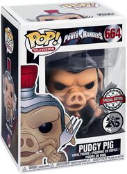 Power Rangers Pudgy Pig Vinyl Figure 664