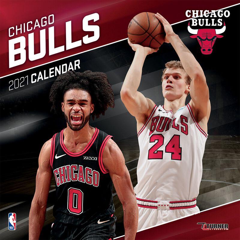 Chigago Bulls - Calendar 2021
