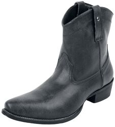 Dark Grey Cowboy Boots