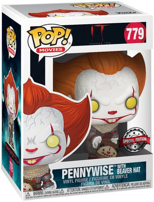 Chapter 2 - Pennywise with Beaver Hat Vinyl Figure 779