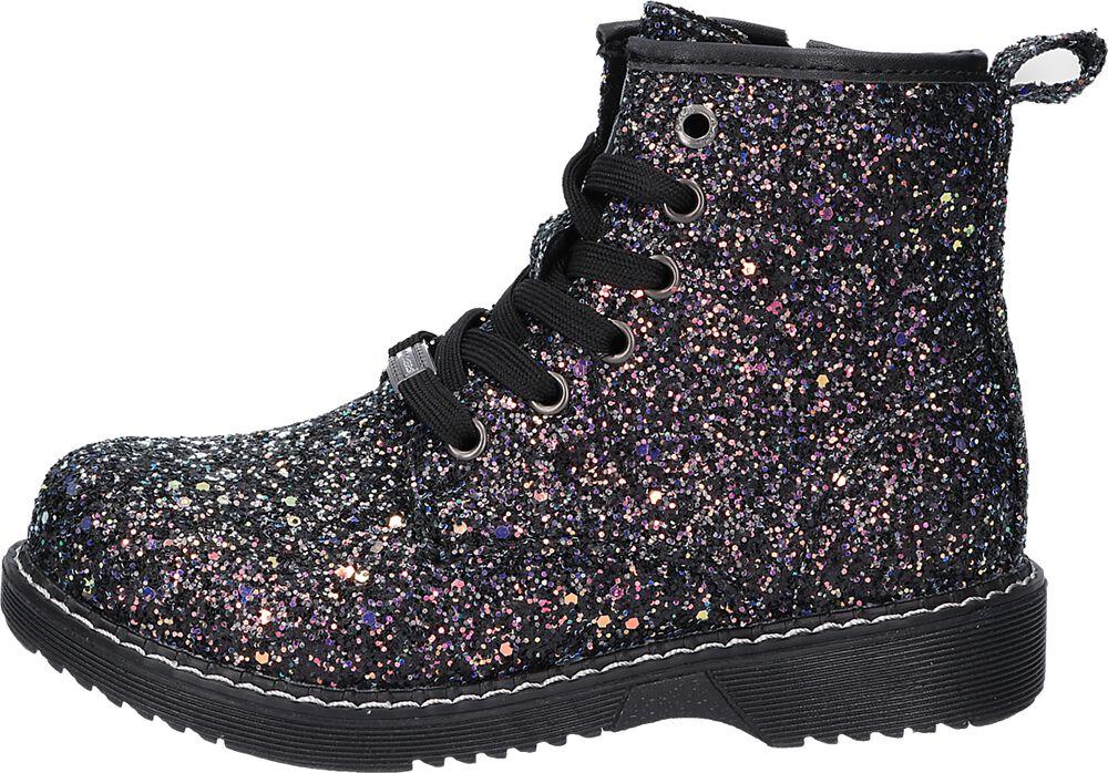 Dark Glitter Boots