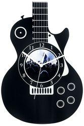 Acrylic Wall Clock  Guitar
