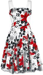 Aristocratic Floral Charlotte Dress