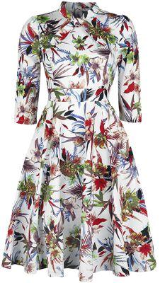 Glamorous Hibiscus Dress