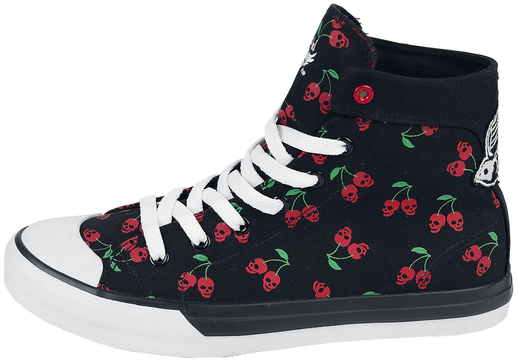 Walk The Line | Rock Rebel by EMP Sneakers High | EMP