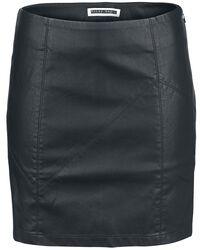 Rebel PU Short Skirt