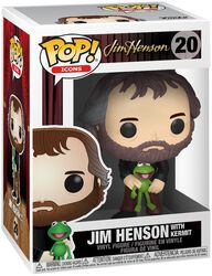 Jim Henson with Kermit Vinyl Figure 20