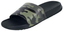 Schwarze EMPiletten mit Camouflage Muster
