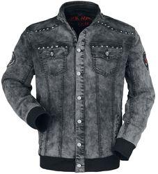 Denim Jacket with Studs