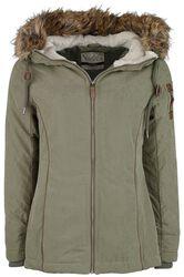 Ladies Fake Fur Jacket