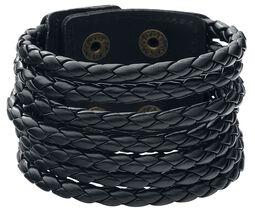 Round Cord Leather Bracelet