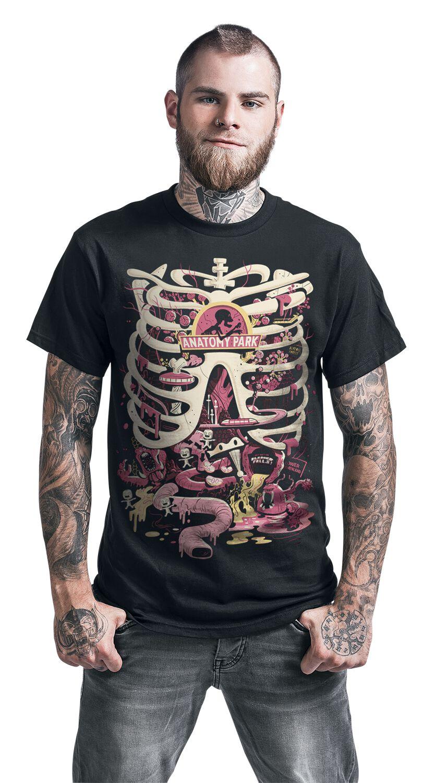Anatomy Park   Rick And Morty T-Shirt   EMP
