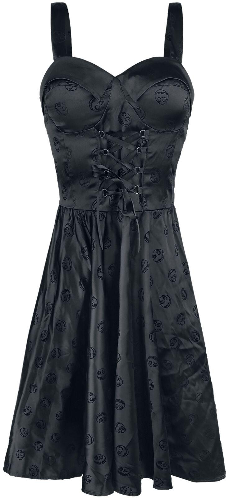Gothic Velvet | The Nightmare Before Christmas Medium-length dress | EMP