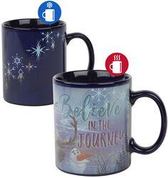 Believe In The Journey - Heat-Change Mug