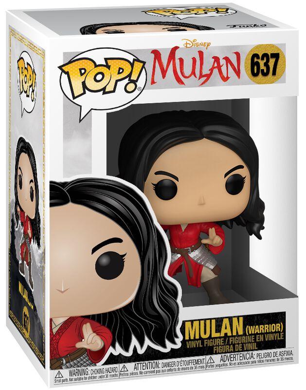 Mulan (Warrior) Vinyl Figure 637