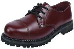 Dark Red Lace-Up Shoes