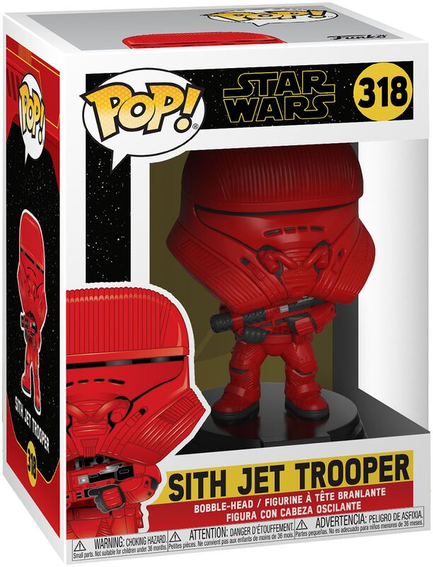 Episode 9 - The Rise of Skywalker - Sith Jet Trooper Vinyl Figure 318