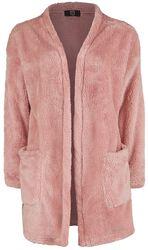 Fluffy Pink Cardigan
