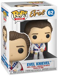 Evel Knievel Evel Knievel (Chase Edition Possible) Vinyl Figure 62