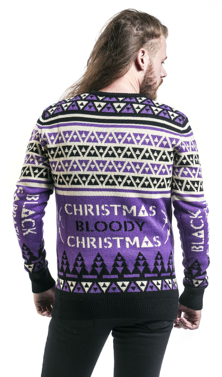 Holiday Sweater 2018 Black Sabbath Christmas Jumper Emp