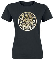 Charlie and the Chocolate Factory Willy Wonka - Gold Foil Logo