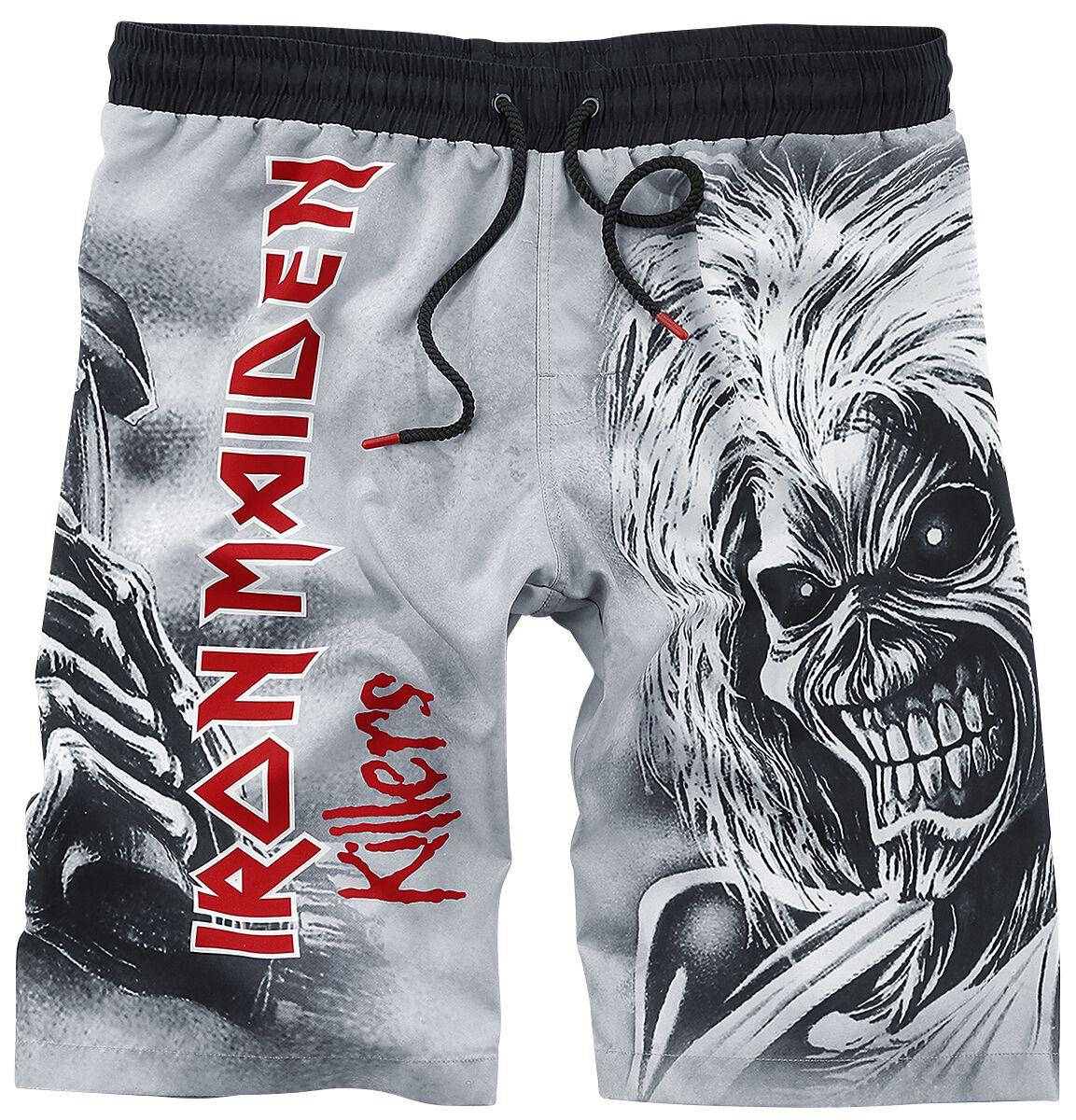 20482c8bd768b EMP Signature Collection | Iron Maiden Swim Shorts | EMP