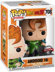 Z - Android 16 (Metallic) Vinyl Figure 708