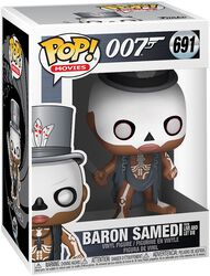 Baron Samedi (From Live And Let Die) Vinyl Figure 691