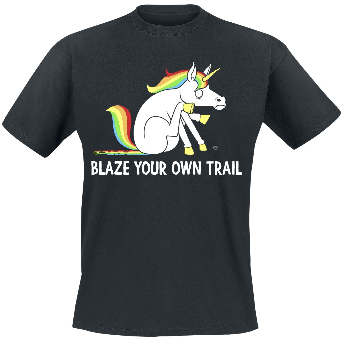 Blaze Your Own Trail Goodie Two Sleeves T Shirt Emp