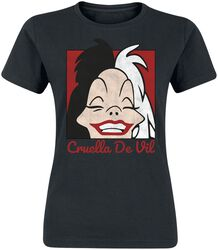 Cruella De Vil Cropped Head