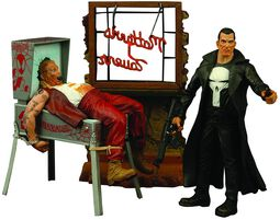 Marvel Select - The Punisher Diorama