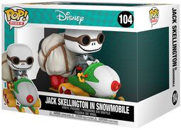 Jack Skellington in Snowmobile (POP Rides) Vinyl Figure 104