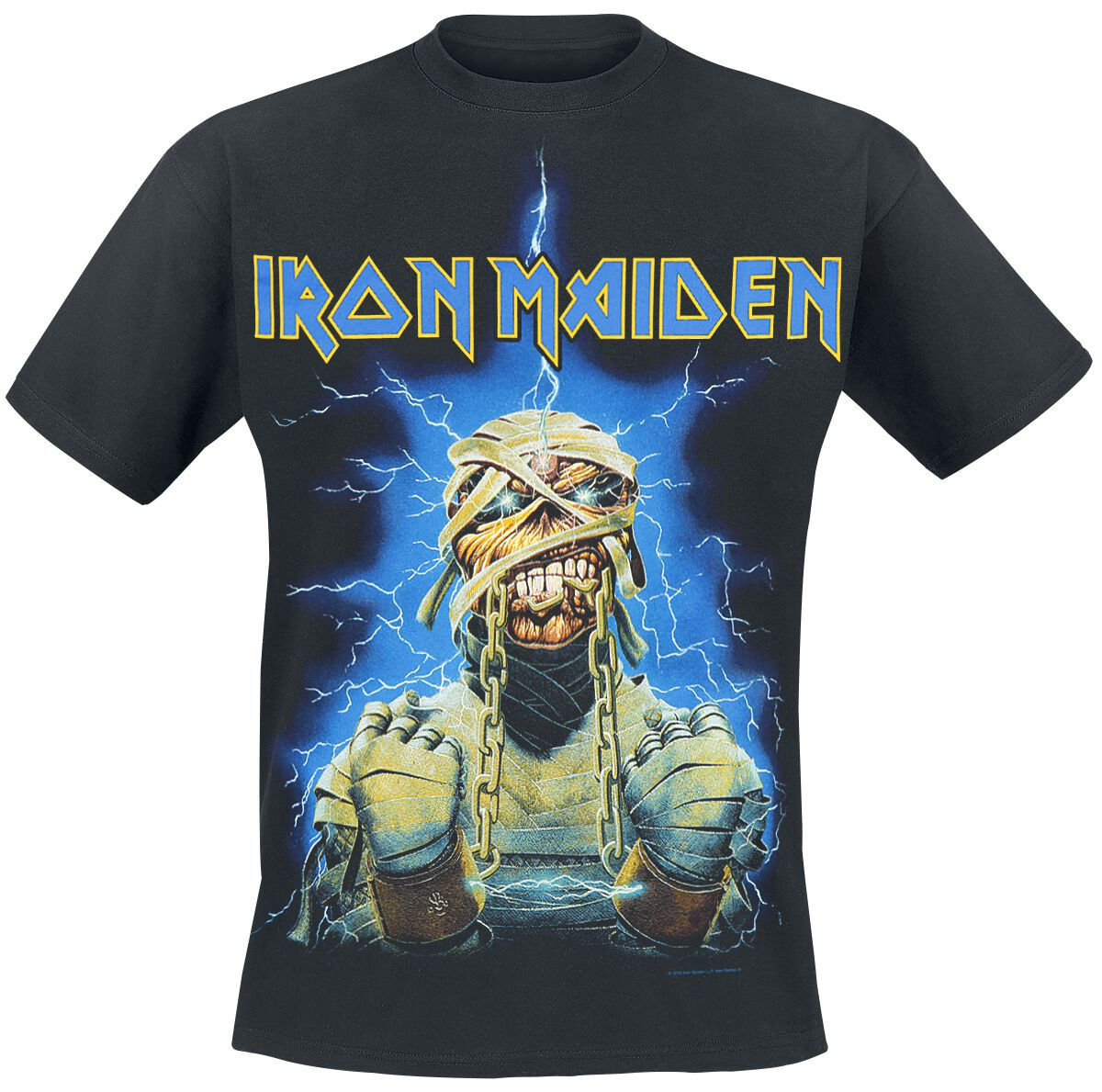 9ce37398e Iron Maiden. Powerslave Mummy. T-Shirt. 12 Reviews