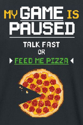 Talk Fast Or Feed Me Pizza
