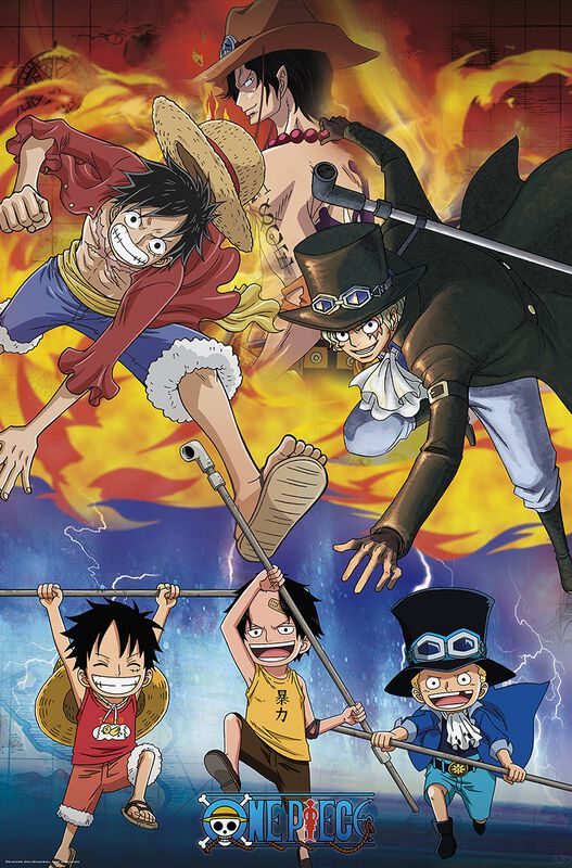 Ace Sabo Luffy