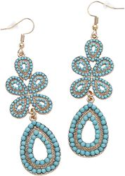Classic Turquoise Earrings