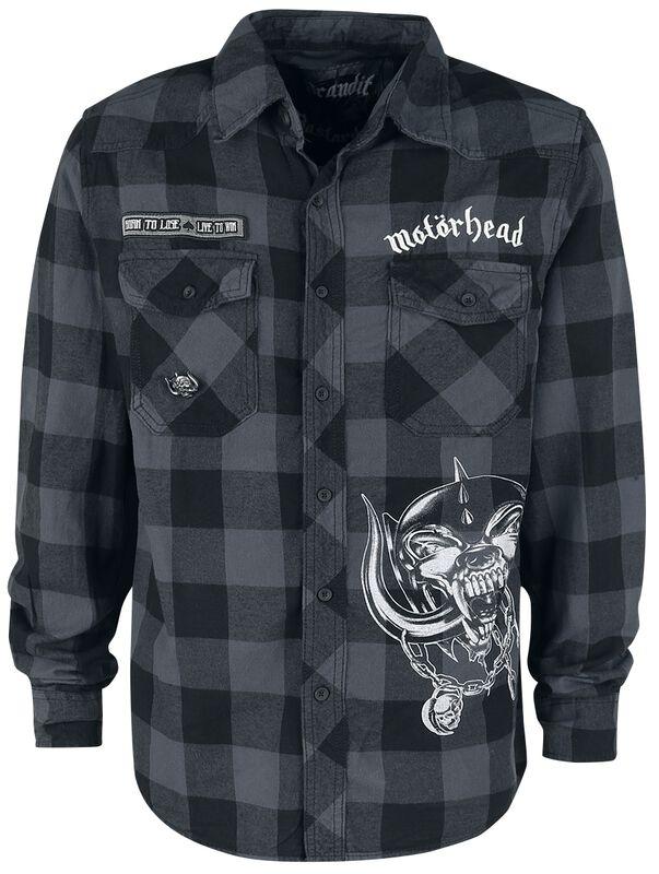 Brandit Bastards - Checkshirt