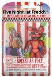 Pizza Simulator - Rockstar Foxy Action Figure