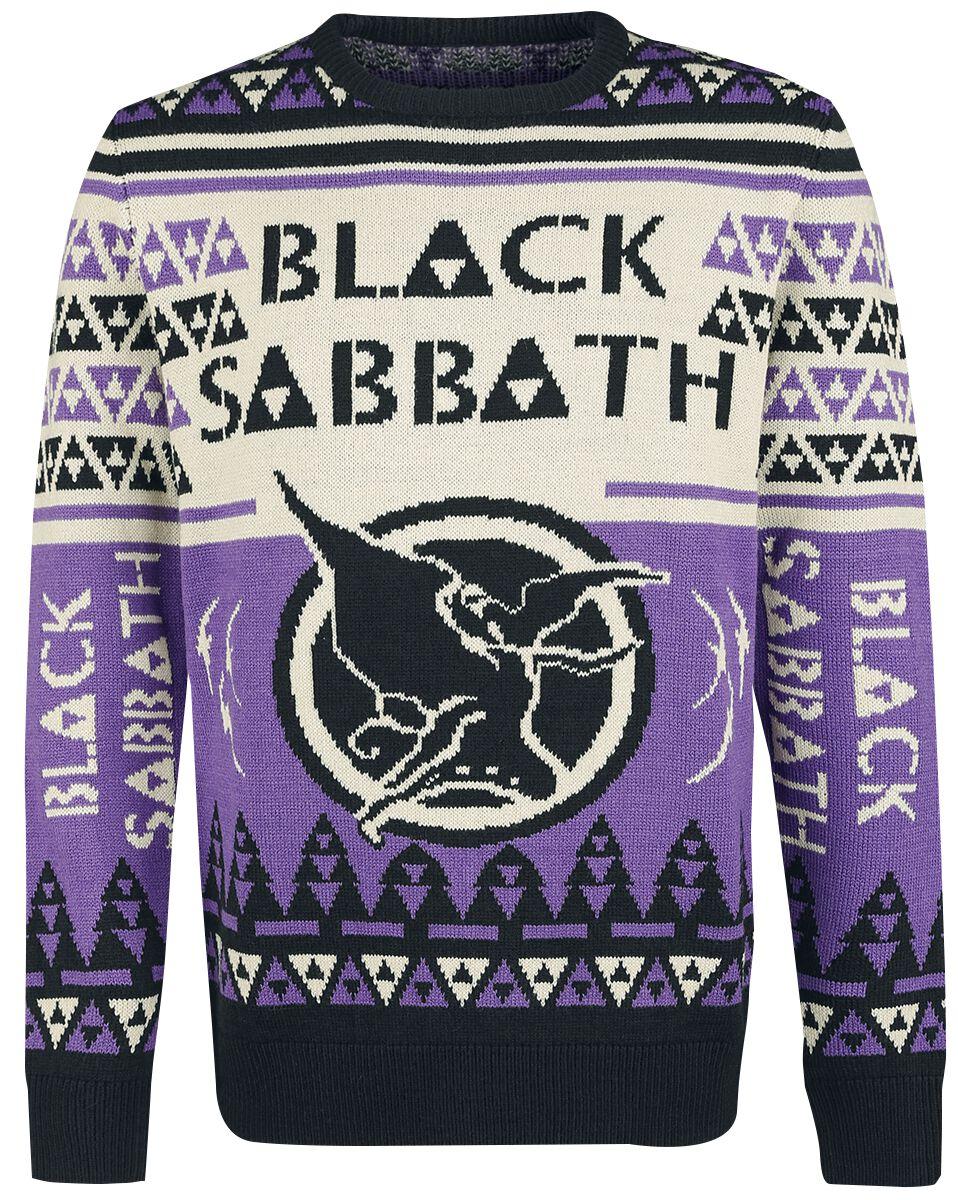 Holiday Sweater 2018 Black Sabbath Christmas Jumper Emp