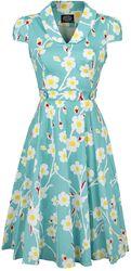 50s Nancy Floral Swing Dress