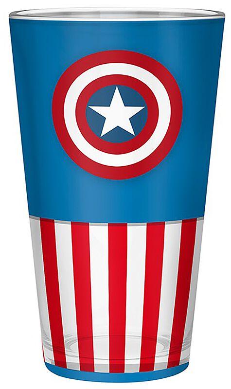 Captain America Glass