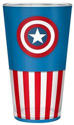 Captain America Glass