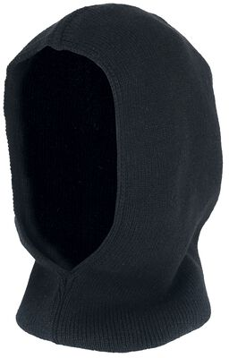 Standard Black Hooded Scarf