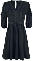 Black Premium Boho Style Dress