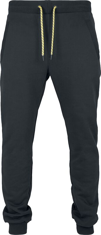 Contrast Drawstring Sweatpants