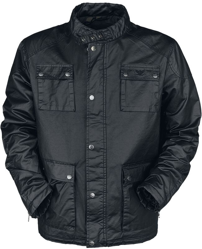 Black between-seasons jacket
