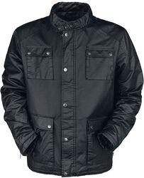 Black between-seasons jacket