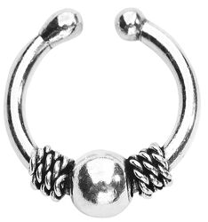Silver Fake Septum