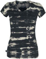 Black Premium Batik-Look T-shirt