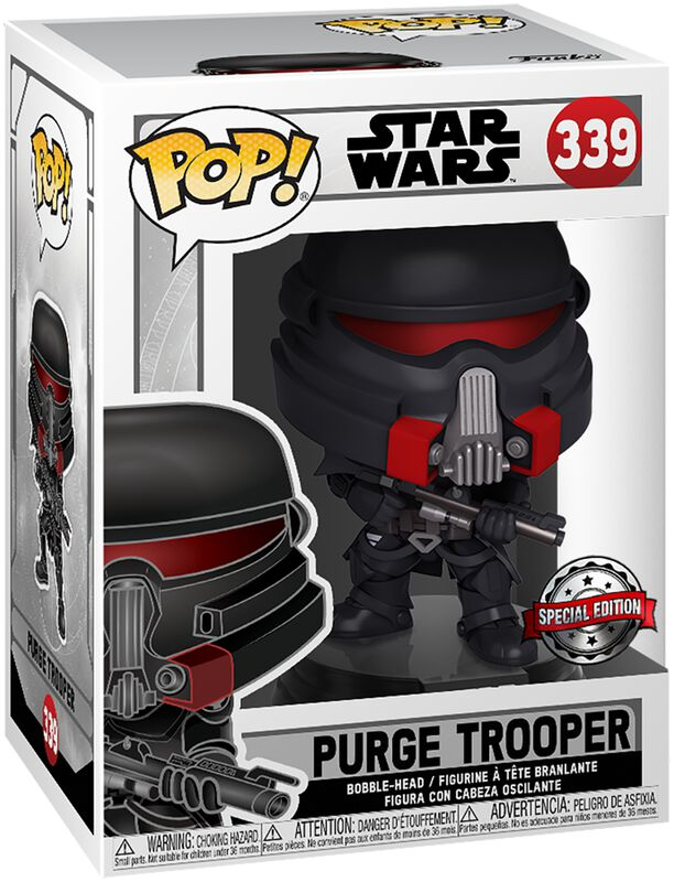 Jedi Fallen Order - Purge Trooper Vinyl Figure 339